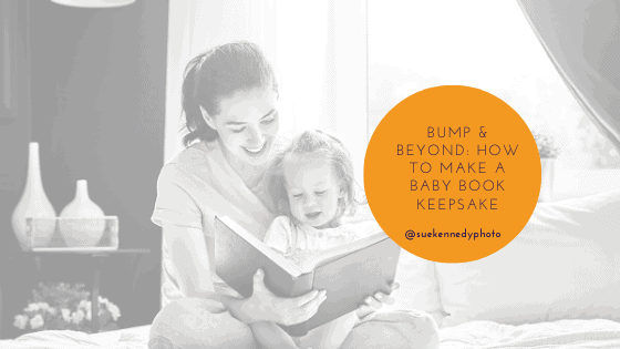 blog header image: Bump & beyond: how to make a baby book keepsake
