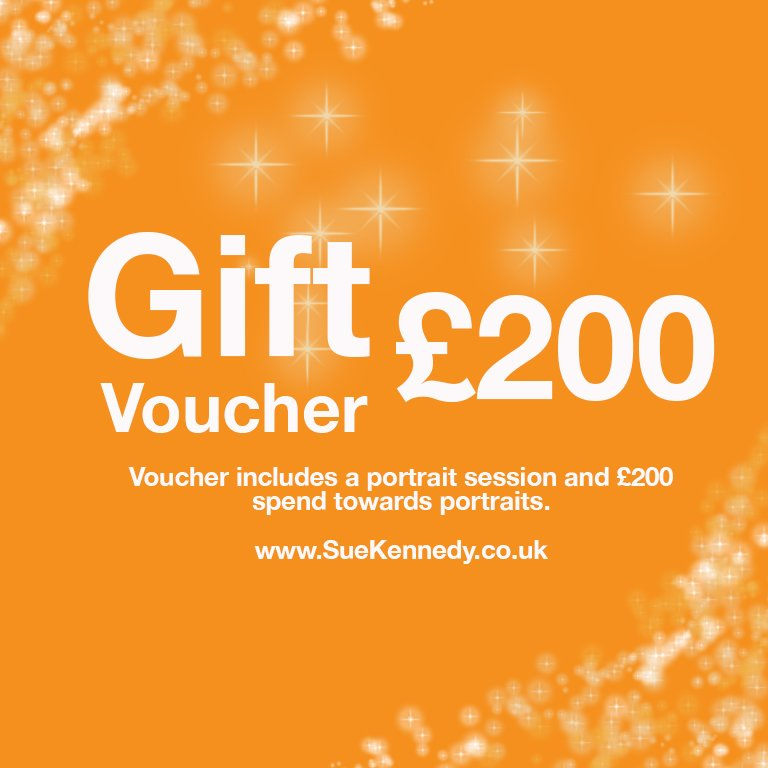 GBP200 gift voucher to spend on photography products
