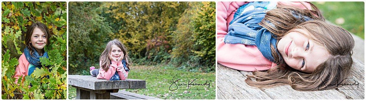 Autumn family portraits of my family