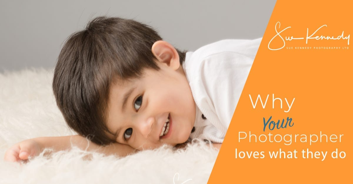 Image for title of blog post why your photographer loves what they do