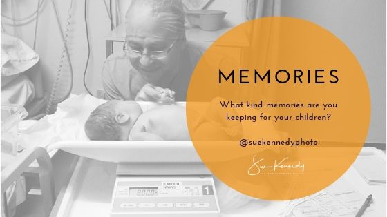 What kind of memories are you keeping for your children?