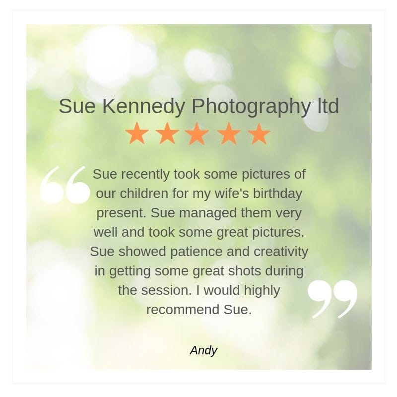 Verified review of Sue Kennedy Photography