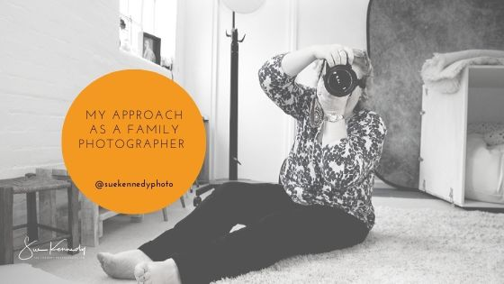 Blog header image about my approach to family photography