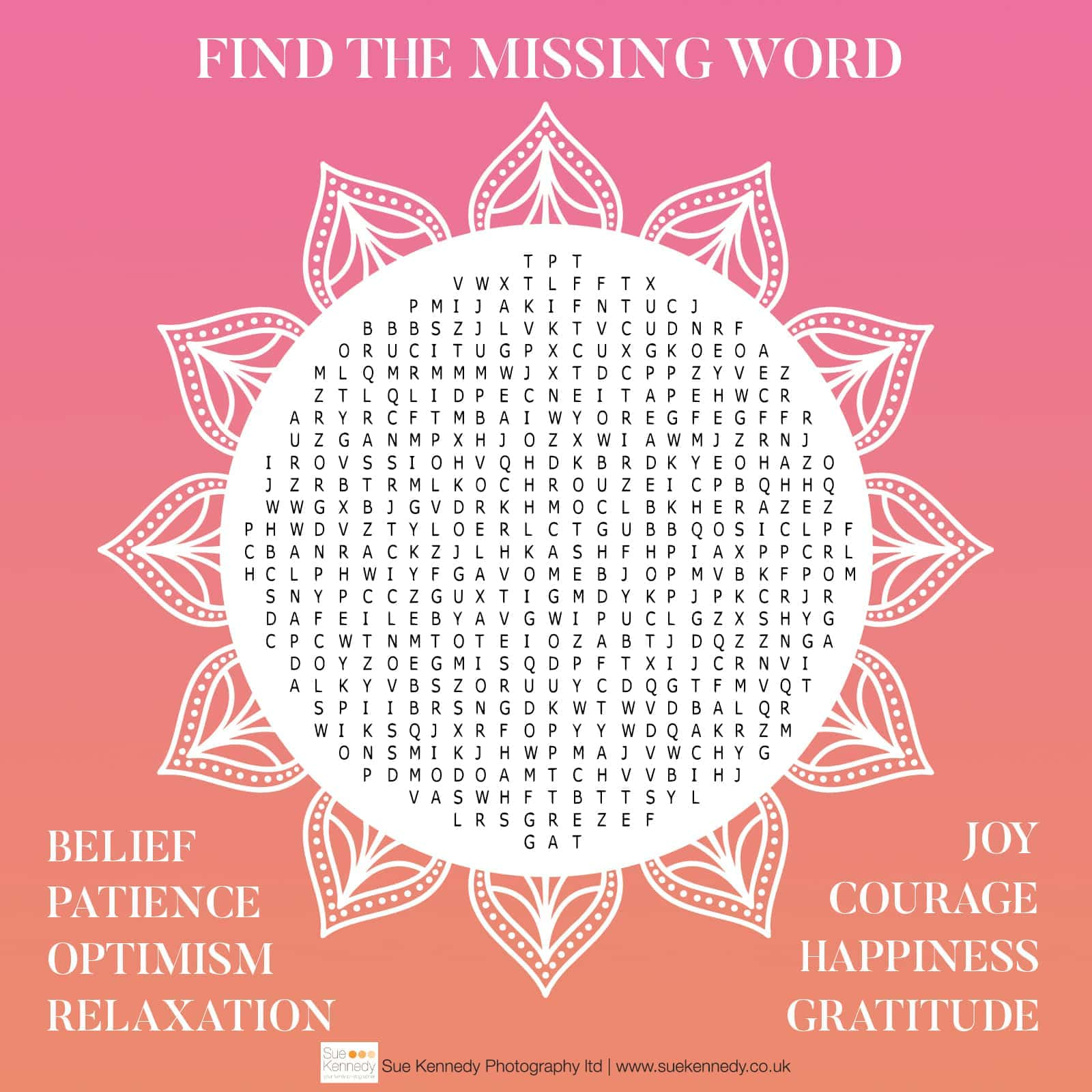online wordsearch graphic
