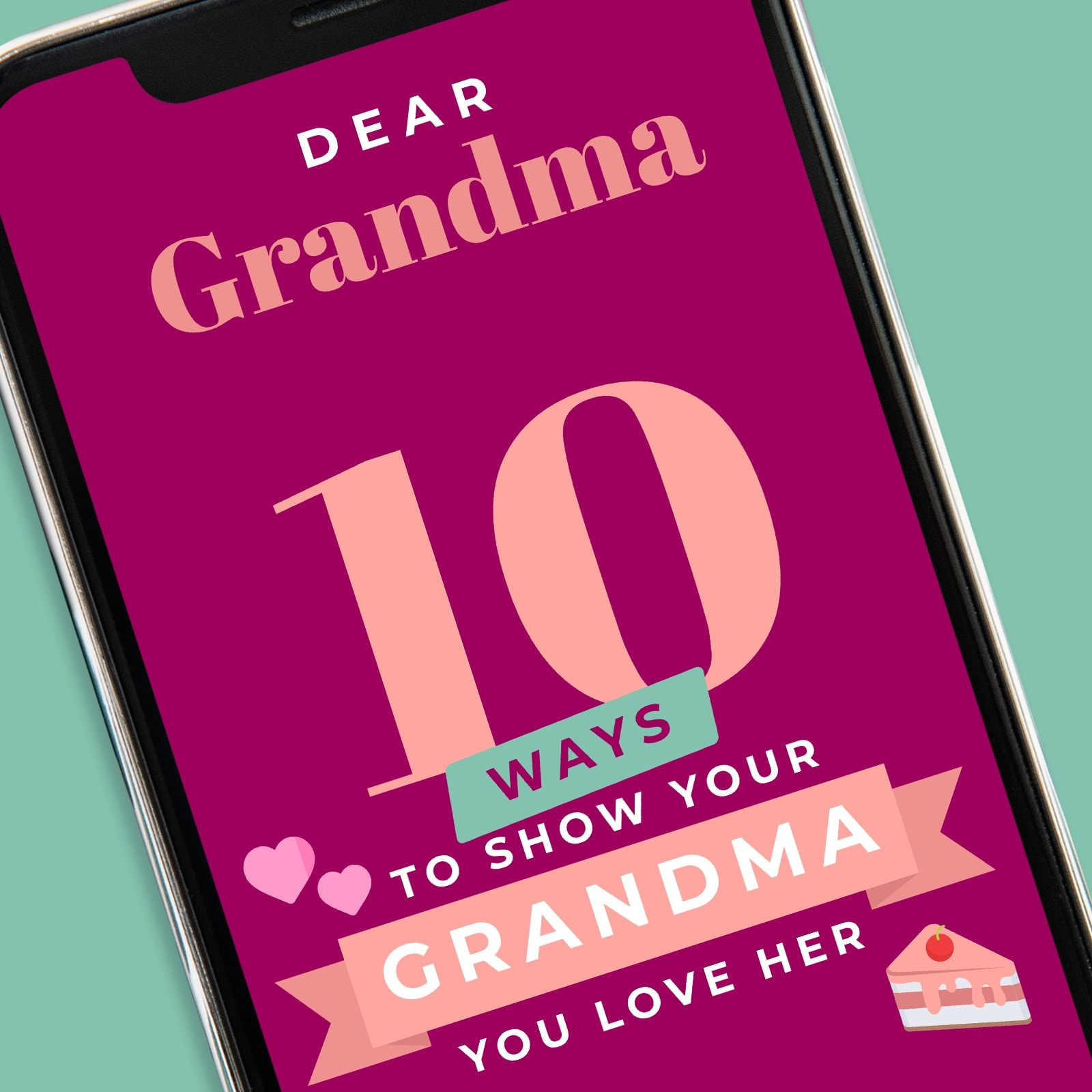 Dear Grandma app graphic