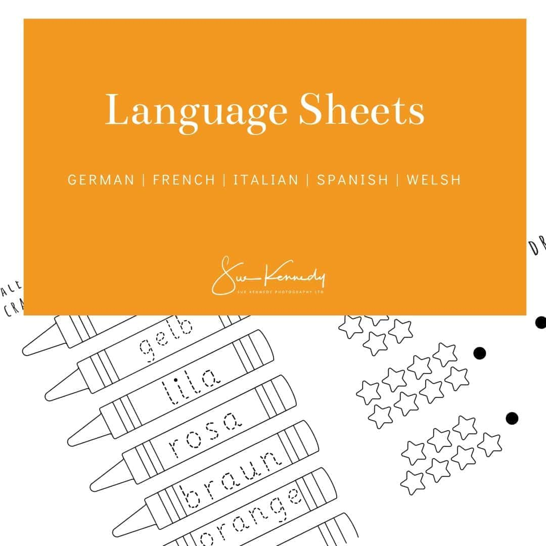 graphic for language sheets