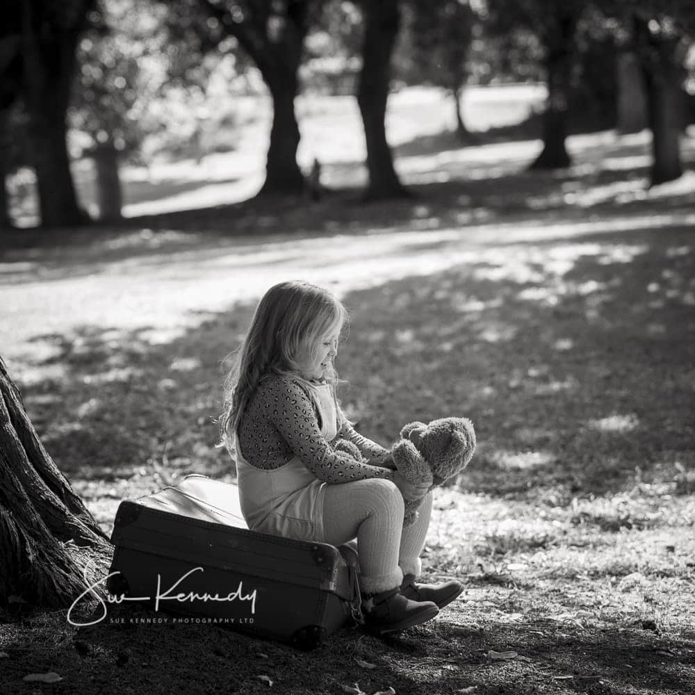 black and white outdoor photography