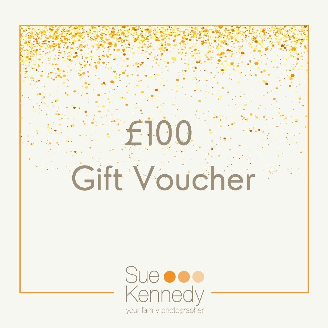 £100 gift voucher graphic