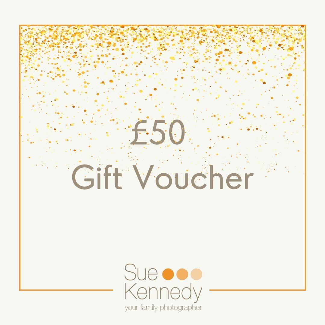 £50 gift voucher graphic