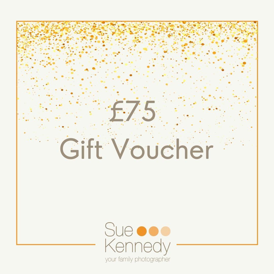 £75 gift voucher graphic