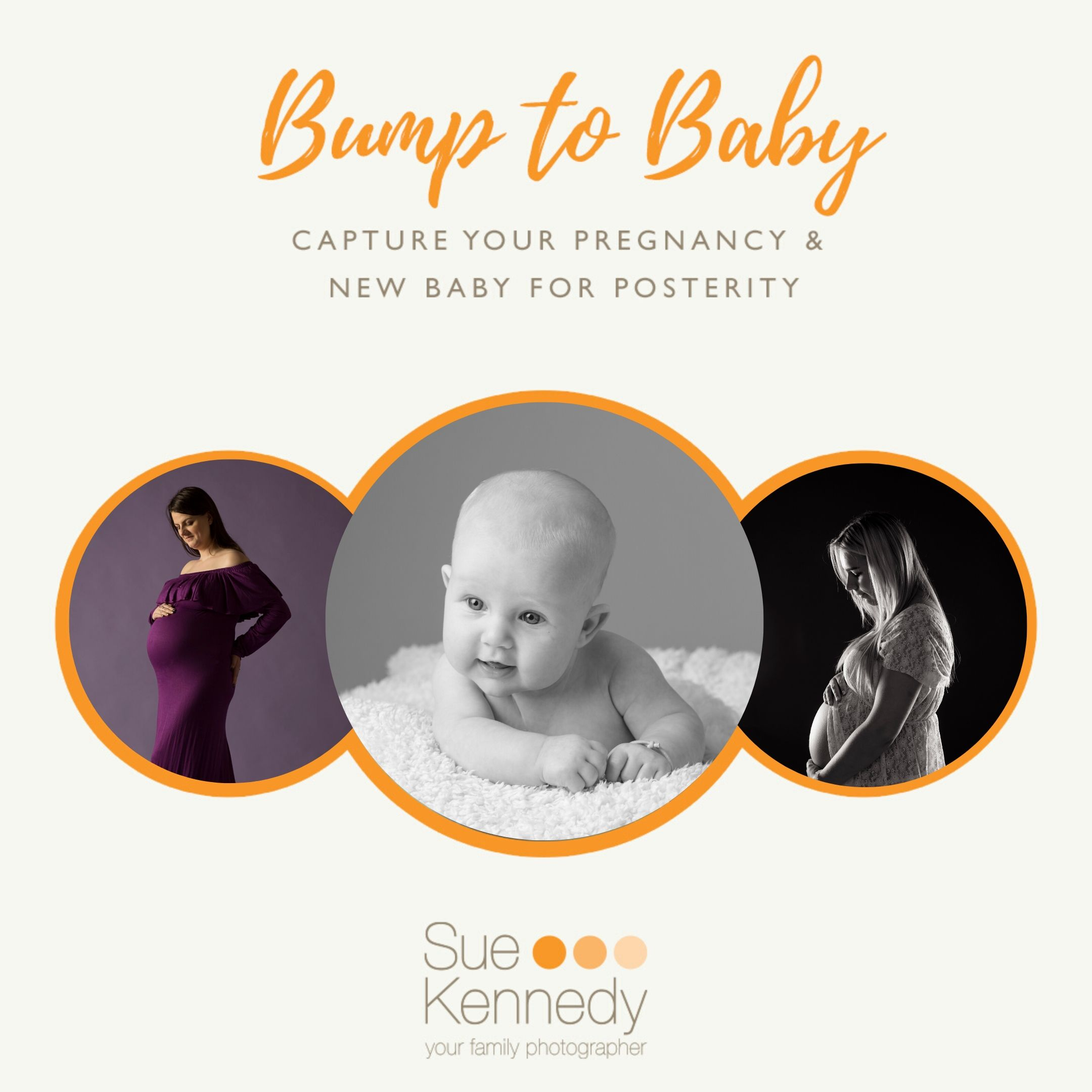 Bump to baby graphic with images
